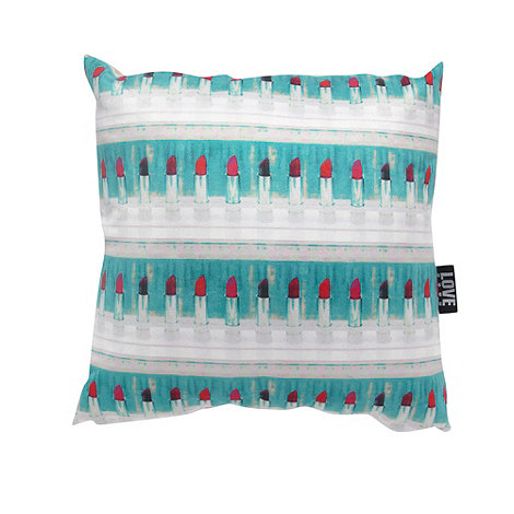 We Love Cushions - Lipstick cushion by ella lancaster