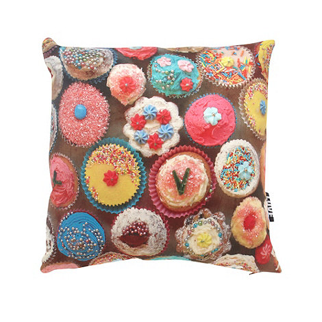 We Love Cushions - Cupcakes cushion by ella lancaster