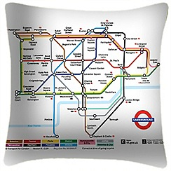 We Love Cushions - Tube map zone one cushion