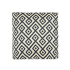 Home Collection - Cream geometric print cushion