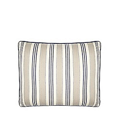 Home Collection - Blue vertical stripe print cushion