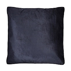 Home Collection - 50 x 50cm navy cushion velvet
