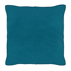 Home Collection - 50 x 50cm dark teal velvet cushion