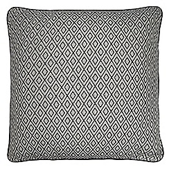 Home Collection - Black geometric print cushion