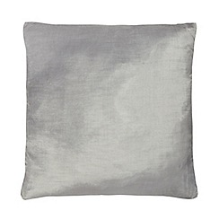 Home Collection - 60 x 60cm silver velvet cushion