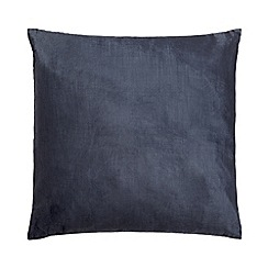 Home Collection - 60 x 60cm navy cushion velvet
