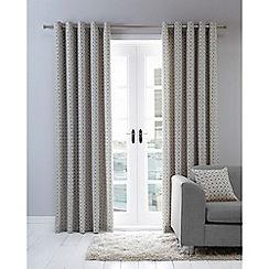 Home Collection Basics - Grey circle print cushion