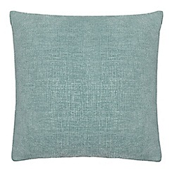 Home Collection - Light turquoise textured cushion