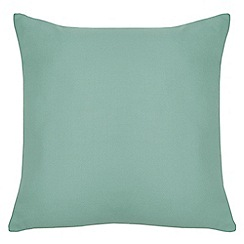 Home Collection Basics - Light turquoise textured cushion