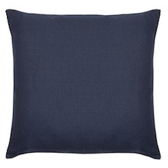 Home Collection Basics - Blue textured cushion