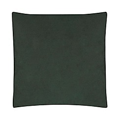 Home Collection - Dark green velvet cushion