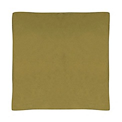 Home Collection - Green velvet cushion