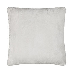 Home Collection - Cream faux fur cushion