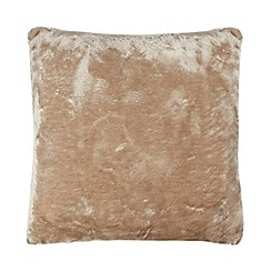 Home Collection - Natural faux fur cushion