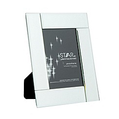 Star by Julien Macdonald - Designer silver mirror deco frame