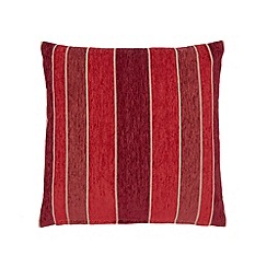 Debenhams - Red striped cushion