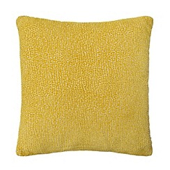 Debenhams - Lime textured cushion