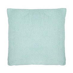 Debenhams - Light green cushion