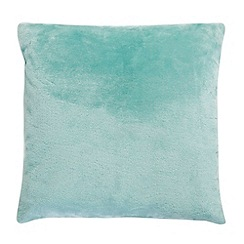 Home Collection - Blue faux fur cushion