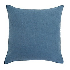 Home Collection - Blue button cushion