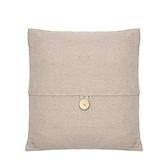 Home Collection - Grey button cushion