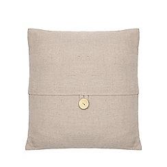 Home Collection - Grey button cushion