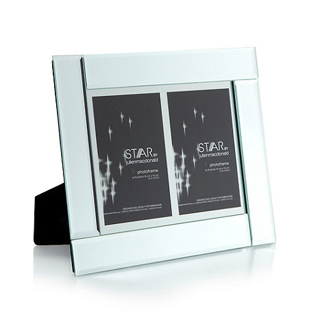 Star by Julien Macdonald - Designer mirror double photo frame