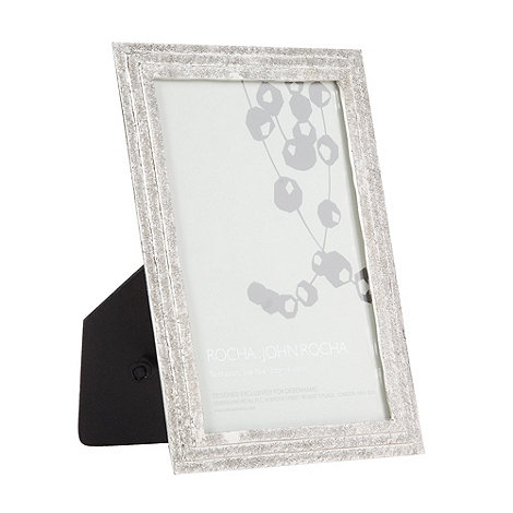 RJR.John Rocha - Designer metal stepped photo frame