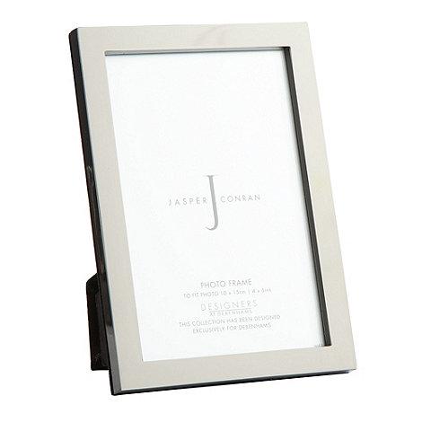 J by Jasper Conran - Designer gunmetal photo frame