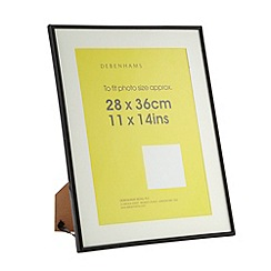 Home Collection Basics - Black large A4 photo frame