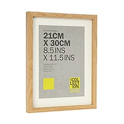 Home Collection Basics - Wood effect A4 photo frame