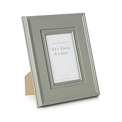 Debenhams - Green matte border 4 x 6 photo frame
