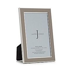 J by Jasper Conran - Designer grey enamel photo frames