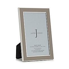 J by Jasper Conran - Designer grey enamel photo frames