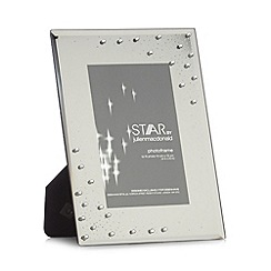 Star by Julien Macdonald - Designer black glass studded photo frames