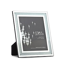 Star by Julien MacDonald - Designer silver glass crystal photo frame