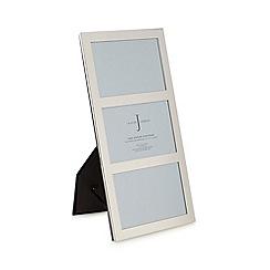 J by Jasper Conran - Designer silver aperture photo frame