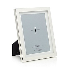 J by Jasper Conran - Designer silver plated boxed 6 x 8 inch photo frame