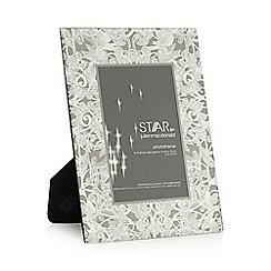 Star by Julien Macdonald - Designer silver glass photo frame