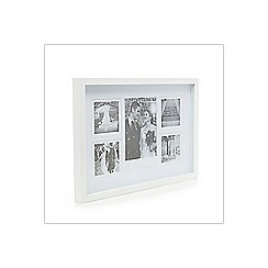 Debenhams - White wedding day photo frame