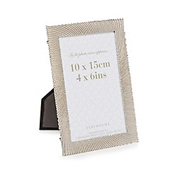 Debenhams - Silver dotted photo frame