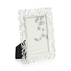 RJR.John Rocha - Silver willow design photo frame