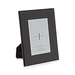 J by Jasper Conran - Black glass photo frame