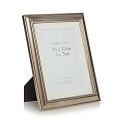 Debenhams - Metallic champagne gilt photo frame