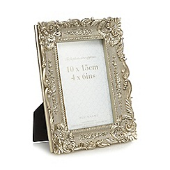 Debenhams - Silver Baroque photo frame