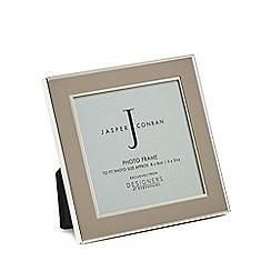 J by Jasper Conran - Grey enamel photo frame