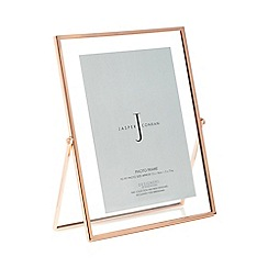 J by Jasper Conran - Rose gold hinged photo frame