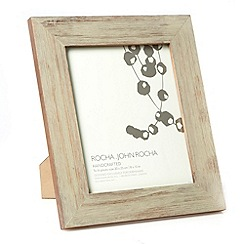 RJR.John Rocha - Designer wooden textured wood 20 x 25cm photo frame