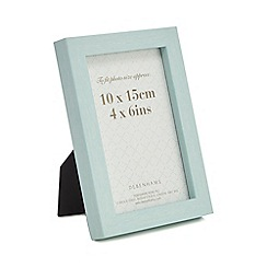 Home Collection - Light turquoise wood effect photo frame