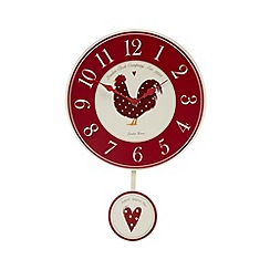 Debenhams - Wooden hen kitchen clock